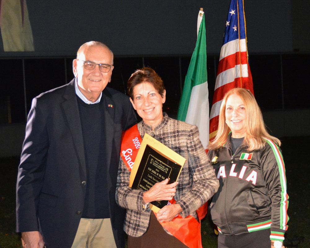 Les Lombardi With Linda Saccoman